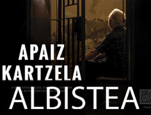 Zamoran preso egondako apaizak omenduko ditu 'Apaiz kartzela' dokumentalak