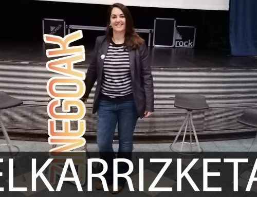 """Arantza Ibarra: """"Errespetuz heldu nahi izan diot gaiari, erantzukizunez"""""""