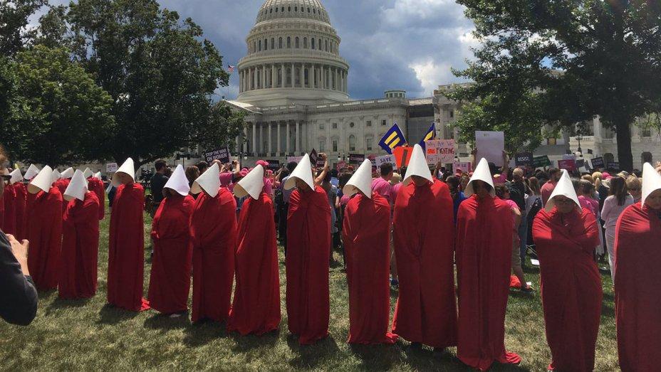 Washingtonen (AEB) egindako protesta.