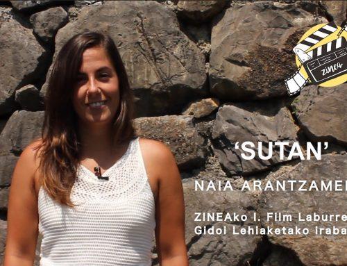 """Naia Arantzamendi: """"Ez dut hitzekin kontatu nahi izan, erakutsi baizik. Eta batez ere, sentitu"""""""
