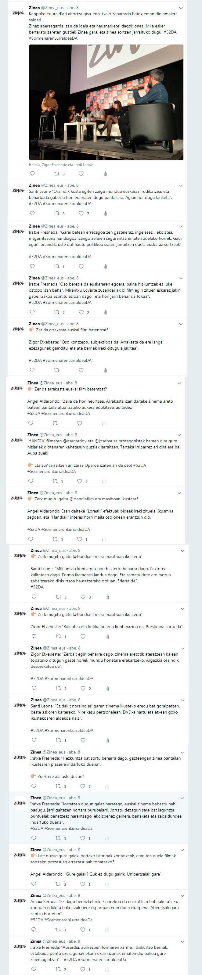 Twitter-Durango-Zerrenda-osorik
