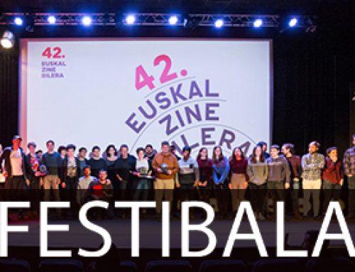 Izibene Oñederrak jaso du Urrezko Antzarra 42. Euskal Zine Bileran
