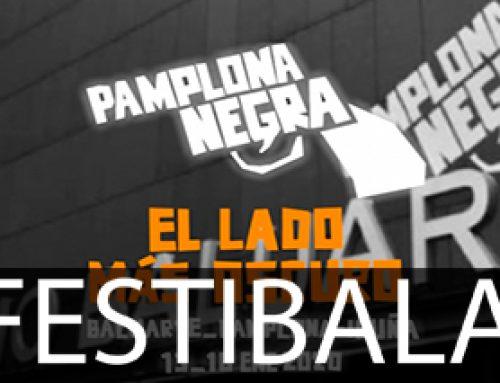 'Pamplona Negra' jaialdia ospatzen ari dira egunotan