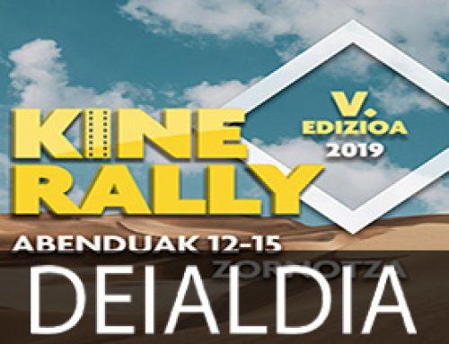 Aurkeztu dute Kine Rally lehiaketaren 5. edizioa