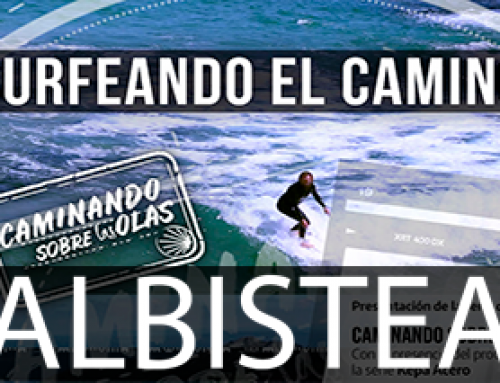 'Caminando sobre las olas' dokumental sorta aurkeztu du Kepa Acero surflariak